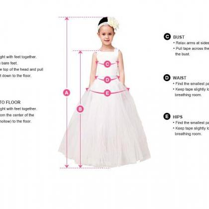Ball Gown Flower Girl Dresses Child..