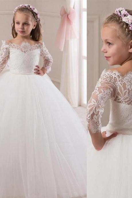 New Communion Party Prom Princess Pageant Bridesmaid Wedding Flower Girl Dress 109
