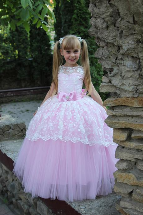 Princess Baby Girl Birthday Wedding Party Formal Flower Girls Dress baby Pageant dresses 178
