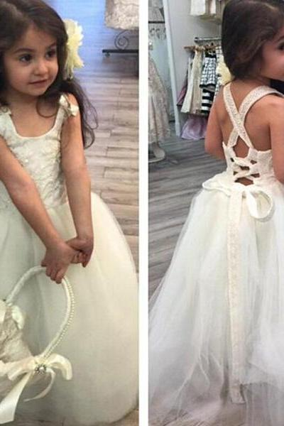 Baby Girl Birthday Wedding Party Formal Flower Girls Dress baby Pageant dresses 245