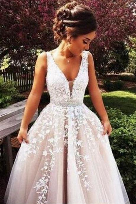 Champagne Prom Dresses Ball Gown Prom Gowns Lace Prom Dresses Tulle Prom Dresses Tulle Prom Gown Prom Dress Evening Gown For Teens
