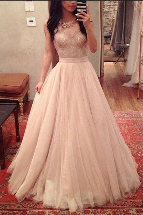 New Party Gown Prom Dress Sweetheart Prom Dress A-Line Prom Dress Noble Prom Dress Tulle Prom Dress
