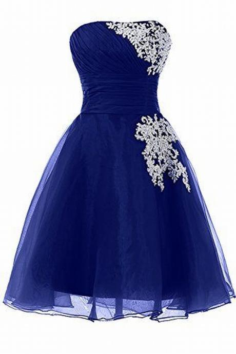 Charming Homecoming Dress Organza Homecoming Dress Appliques Homecoming Dress Noble Homecoming Dress