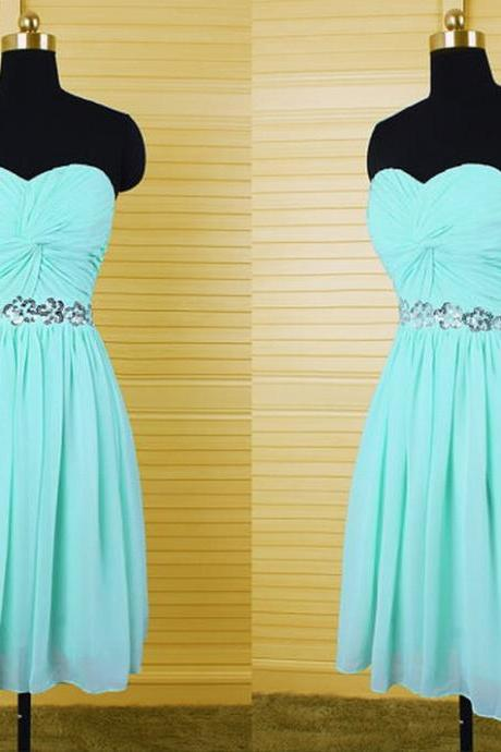 Charming Homecoming Dress Chiffon Homecoming Dress Sequined Homecoming Dress Sweetheart Homecoming Dress