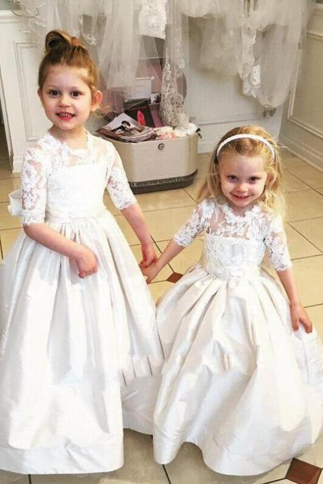 New Flower Girl Princess Dress Party Ball Pageant Wedding Birthday Gowns Custom ytz316 (1