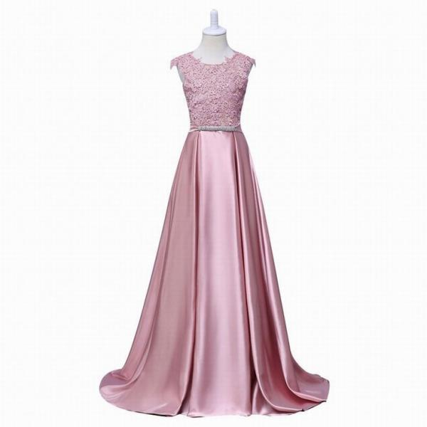 New Arrival Pretty Flower Girl Dresses appliques Baby Girl Dress with bow sashes floor length long style dresses ytz148